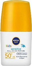 Parfémy, Parfumerie, kosmetika Opalovací roll-on lotion pro děti - Nivea Sun Kids Protect & Sensitive Roll-on SPF50