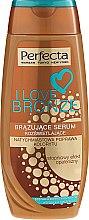 Parfémy, Parfumerie, kosmetika Bronzující sérum na tělo - Perfecta I Love Bronze Serum