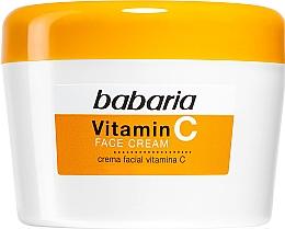 Parfémy, Parfumerie, kosmetika Pleťový krém s vitamínem C - Babaria Vitamin C Face Cream