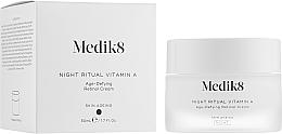 Parfémy, Parfumerie, kosmetika Noční anti-age krém s retinolem - Medik8 Night Ritual Vitamin A