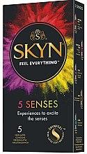 Parfémy, Parfumerie, kosmetika Kondóm , 5ks - Unimil Skyn 5 Senses