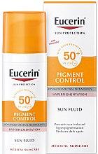 Parfémy, Parfumerie, kosmetika Pleťový fluid proti hyperpigmentaci - Eucerin Sun Protection Pigment Control SPF50+