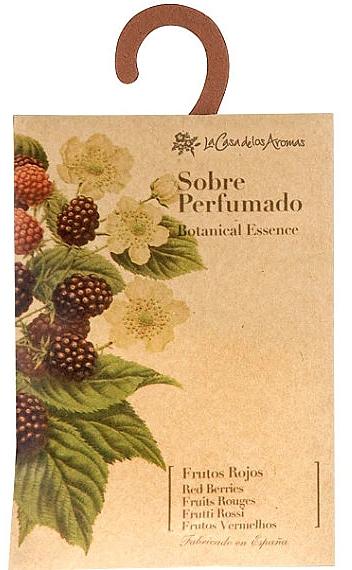 Vonný sáček Lesní plody - La Casa de Los Botanical Essence Red Berries Scented Sachet