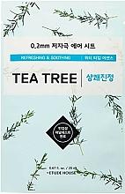 Parfémy, Parfumerie, kosmetika Maska pro problematickou pleť s čajovníkovým extraktem - Etude House Therapy Air Mask Tea Tree