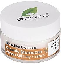 Parfémy, Parfumerie, kosmetika Tělový denní krém Arganový olej - Dr. Organic Bioactive Skincare Organic Moroccan Argan Oil Day Cream