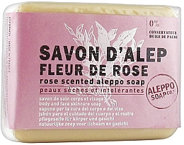 Parfémy, Parfumerie, kosmetika Aleppské mýdlo s vůní růže - Tade Aleppo Rose Flower Scented Soap