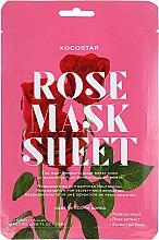 Parfémy, Parfumerie, kosmetika Lifting maska na obličej Růže - Kocostar Slice Mask Sheet Rose