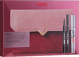 Parfémy, Parfumerie, kosmetika Sada - Pupa Vamp! Vamp! Stylo Liner (mascara/9ml + eye/liner/1.5ml + bag)