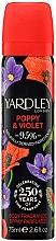 Parfémy, Parfumerie, kosmetika Yardley Poppy & Violet - Deodorant