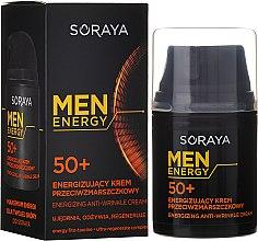 Parfémy, Parfumerie, kosmetika Krém proti vráskám, vyživuje a obnovuje 50+ - Soraya Men Energy