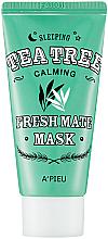 Parfémy, Parfumerie, kosmetika Noční maska s čajovníkem - A'pieu Fresh Mate Tea Tree Mask