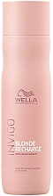 Parfémy, Parfumerie, kosmetika Šampon-neutralizátor proti žloutnutí - Wella Professionals Invigo Blonde Recharge Color Refreshing Shampoo