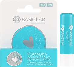 Parfémy, Parfumerie, kosmetika Ochranná rtěnka - BasicLab Dermocosmetics Famillias