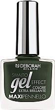 Parfémy, Parfumerie, kosmetika Lak na nehty - Deborah Gel Effect Nail Enamel