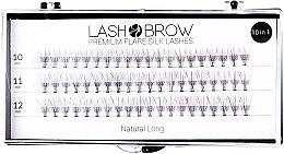 Parfémy, Parfumerie, kosmetika Umělé řasy - Lash Brown Premium Flare Silk Lashes Natural Long