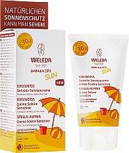 Parfémy, Parfumerie, kosmetika Opalovací mléko pro citlivou pokožku - Weleda Edelweiss Baby&Kids Sun SPF 30