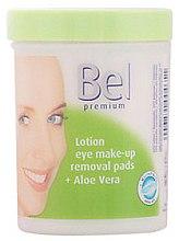 Parfémy, Parfumerie, kosmetika Vlhčené kosmetické tampóny s Aloe Vera - Bel Premium Lotion Eye Make-Up Pads Aloe Vera