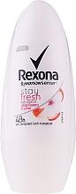 Parfémy, Parfumerie, kosmetika Kuličkový deodorant - Rexona Stay Fresh Deo Roll-On White Flowers