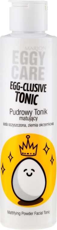 Tonikum na obličej - Marion Egg-Cellent Tonic Eggy Care