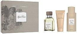 Parfémy, Parfumerie, kosmetika Adolfo Dominguez Agua Fresca - Sada (edt/120ml+aft/shv/75ml+deo/sp/150)