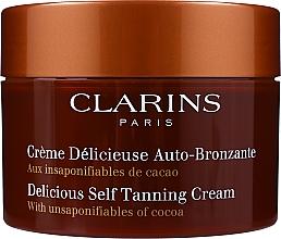 Parfémy, Parfumerie, kosmetika Krém - Clarins Delicious Self Tanning Cream