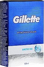 """Parfémy, Parfumerie, kosmetika Mléko po holení """"Osvěžující"""" - Gillette Series Arctic Ice After Shave Splash Bold"""