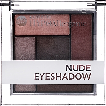 Parfémy, Parfumerie, kosmetika Hypoalergenní saténové krémové oční stíny - Bell Hypoallergenic Nude Eyeshadow