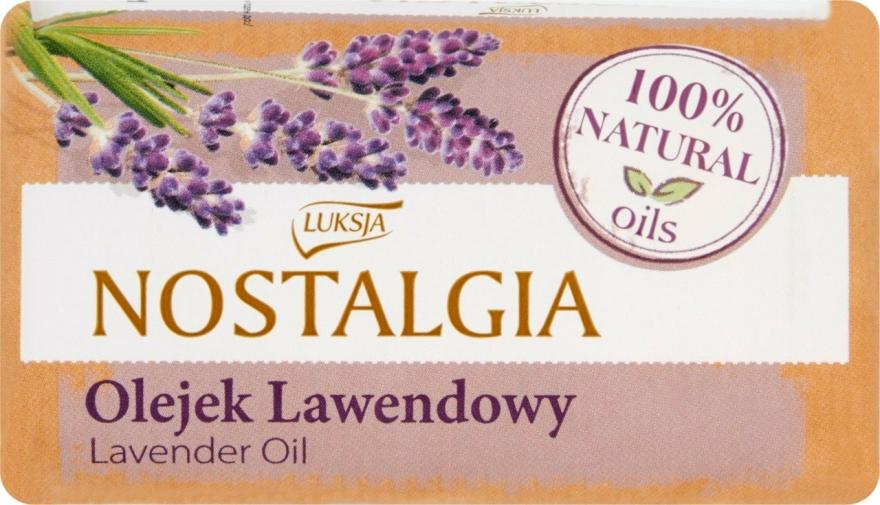 """Mýdlo """"Levandulový olej"""" - Luksja Nostalgia Lavender Oil Soap"""