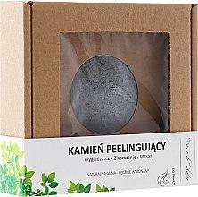 Parfémy, Parfumerie, kosmetika Přírodní kámen pro peeling obličeje, šedý - Pierre de Plaisir Natural Scrubbing Stone Face