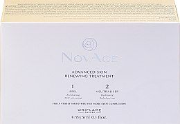 Parfémy, Parfumerie, kosmetika Dvojfázový peeling pro obnovu pleti - Oriflame NovAge Advanced Skin Renewing Treatment