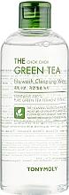 Parfémy, Parfumerie, kosmetika Čisticí pleťová voda - Tony Moly The Chok Chok Green Tea No-Wash Cleansing Water