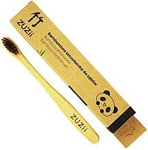 Parfémy, Parfumerie, kosmetika Dětský zubní kartáček s měkkými hnědými štětinami - Zuzii Kids Soft Toothbrush