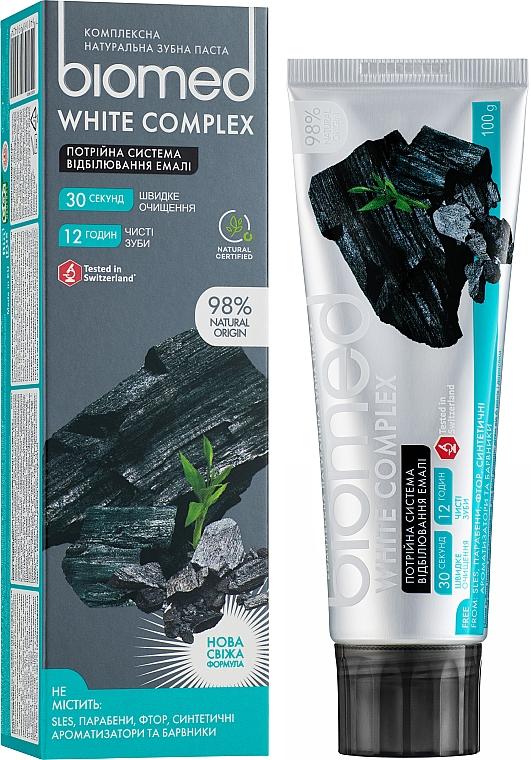 Zubní pasta trojitý systém bělení skloviny - Biomed White Complex