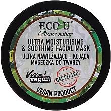 Parfémy, Parfumerie, kosmetika Hydratační a zklidňující pleťová maska - Eco U Choose Nature Ultra Moisturing & Soothing Face Mask