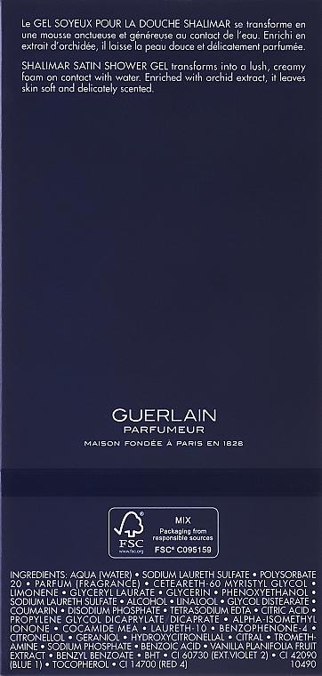 Guerlain Shalimar - Sprchový gel — foto N3