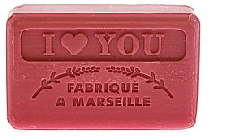 Parfémy, Parfumerie, kosmetika Marseille mýdlo I love you - Foufour Savonnette Marseillaise I Love You