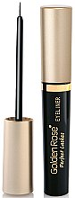 Parfémy, Parfumerie, kosmetika Oční linka - Golden Rose Perfect Lashes Black EyeLiner
