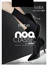 Parfémy, Parfumerie, kosmetika Dámské ponožky z mikrovlákna Mira 40 Den, 2, black - Knittex