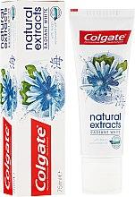 """Parfémy, Parfumerie, kosmetika Zubní pasta """"Bezpečné bělení"""" - Colgate Natural Extracts Radiant White Seaweed"""