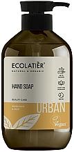 Parfémy, Parfumerie, kosmetika Tektuté mýdlo na ruce Mandarinka a máta - Ecolatier Urban Liquid Soap