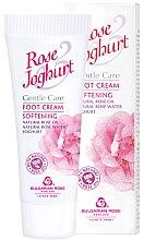 Parfémy, Parfumerie, kosmetika Krém na nohy změkčující - Bulgarian Rose Rose & Joghurt Foot Cream