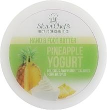 Parfémy, Parfumerie, kosmetika Krém na nohy a ruce Ananasový jogurt - Hristina Cosmetics Stani Chef's Pineapple Yogurt Hand & Foot Butter