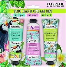 Parfémy, Parfumerie, kosmetika Sada - Floslek Trio Hand Cream Set (h/cr/50ml*3)