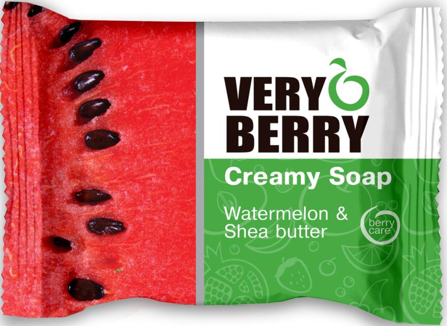 Krémové mýdlo - Very Berry Watermelon & Shea Butter
