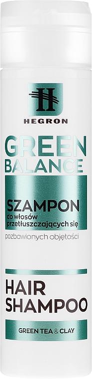 Šampon pro mastné vlasy - Hegron Green Balance Hair Shampoo — foto N1