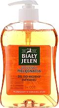Hypoalergenní gel pro intimní hygienu s dubovou kůrou - Bialy Jelen Gel For Intimate Hygiene — foto N2