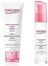 Parfémy, Parfumerie, kosmetika Sada - Topicrem Skin Care Gift Set (cr/40ml+ser/7ml)