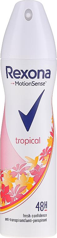 """Deodorantový sprej """"Bavlna"""" - Rexona Deodorant Spray Tropical — foto N1"""