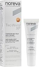 Parfémy, Parfumerie, kosmetika Prostředek na oči - Noreva Laboratoires Trio White XP Anti-Dark Spot Eye Contour Care