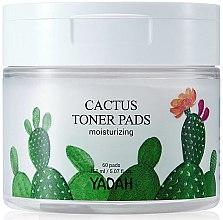 Parfémy, Parfumerie, kosmetika Hydratační ubrousky na obličej s kaktusem - Yadah Cactus Moisturizing Toner Pads